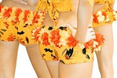 Shorts. Girls in shorts isolated on white background Stock Photo