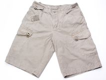 Shorts. Isolated on a white background Royalty Free Stock Image