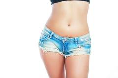 Shorts belly Royalty Free Stock Photo