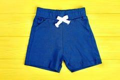 Shorts casuali del neonato Immagine Stock Libera da Diritti