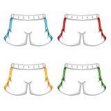 Shorts coloridos Fotos de Stock