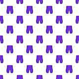 Shorts for cyclists pattern, cartoon style Stock Image