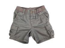 Shorts d'enfants sur un blanc photo stock