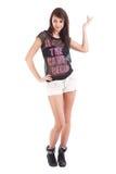 Shorts da portare adolescenti Fotografia Stock