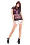 Shorts da portare della ragazza Fotografia Stock Libera da Diritti
