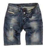 Shorts de denim photographie stock