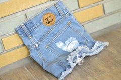 Shorts de pantalons Photo stock