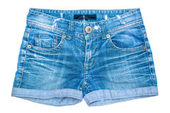 Shorts dei jeans Fotografia Stock Libera da Diritti