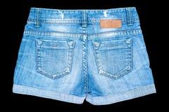 Shorts dei jeans Fotografia Stock