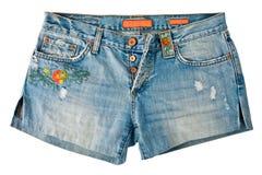 Shorts del denim Immagine Stock