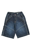 Shorts del Jean Fotografia Stock