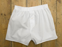 Shorts del pugile Fotografia Stock