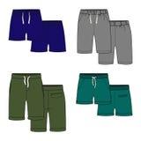 Shorts di colore Fotografie Stock Libere da Diritti