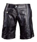 Shorts di cuoio neri immagini stock libere da diritti