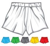 O pugilista shorts a coleção Fotos de Stock