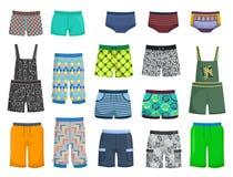 Shorts e mutandine Fotografie Stock