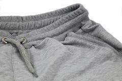 Shorts grigi degli uomini Immagini Stock Libere da Diritti