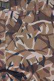 Shorts marroni della tasca di camoflage del primo piano (parte anteriore) Immagini Stock