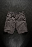 Shorts mixed. A shorts mixed above a black background royalty free stock photography