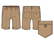 Shorts qui descend jusqu'au genou Photographie stock