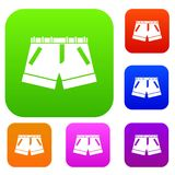 Shorts set collection Stock Photography