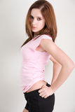 Shorts and shirt fashion Royalty Free Stock Photography