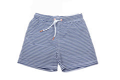 Shorts for swimming. On a white background isolated Stock Photo