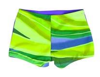 Shorts verdes Fotografia de Stock