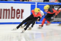 Shorttrack - Declan Hiscox Royalty Free Stock Images