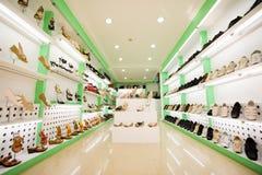 shose магазина Стоковое фото RF