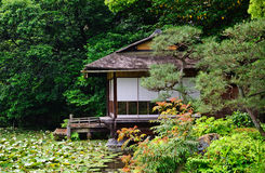 Shosei garden, Kyoto, Japan. Shosei garden in Kyoto, Japan stock photo