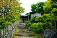 Shosei trädgård, Kyoto, Japan arkivbilder