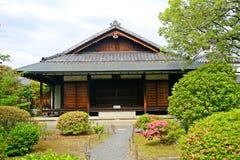 Shosei trädgård, Kyoto, Japan royaltyfri foto