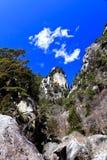 Shosenkyo峡谷在日本 库存图片