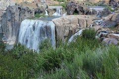 Shoshone fällt auf den Snake River Lizenzfreies Stockbild