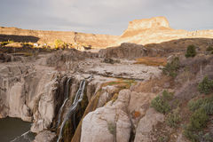 Shoshone fällt Nordwest-Vereinigte Staaten Snake River Schlucht Idahos lizenzfreie stockfotos