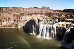 Shoshone Falls. Scenic view of Shoshone Falls on Snake river, Idaho, U.S.A Royalty Free Stock Photo