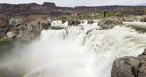 Shoshone Falls Royalty Free Stock Images