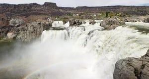 Shoshone Falls. Near Twin Falls Idaho - high water during spring runoff Royalty Free Stock Images