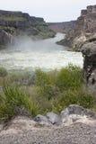 Shoshone Falls. Near Twin Falls Idaho - high water during spring runoff Royalty Free Stock Photography