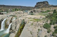 Shoshone Falls. On the Snake River near Twin Falls Stock Photo