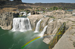 Shoshone Falls. On the Snake River near Twin Falls Stock Photography