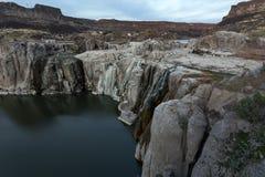 Shoshone falls in dry season Royalty Free Stock Photography