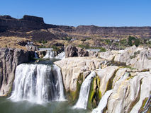 Shoshone Falls Idaho on a beautiful sunny day Stock Photo