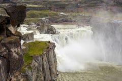 Shoshone falls near Twin Falls Idaho in spring Royalty Free Stock Photos