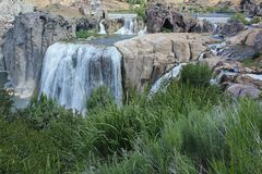 Shoshone  Falls on the Snake River Royalty Free Stock Image
