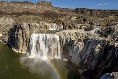 Shoshone Falls in Twin Falls Idaho Stock Image