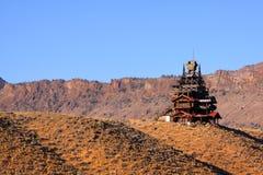 Shoshone las państwowy Fotografia Royalty Free