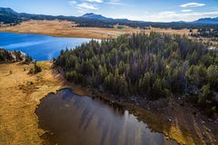 Shoshone National Forest Aerial Stock Images