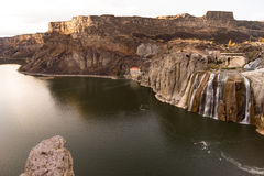 Shoshone spadków węża Idaho jaru Rzeczni Buttes Stany Zjednoczone Zdjęcie Royalty Free